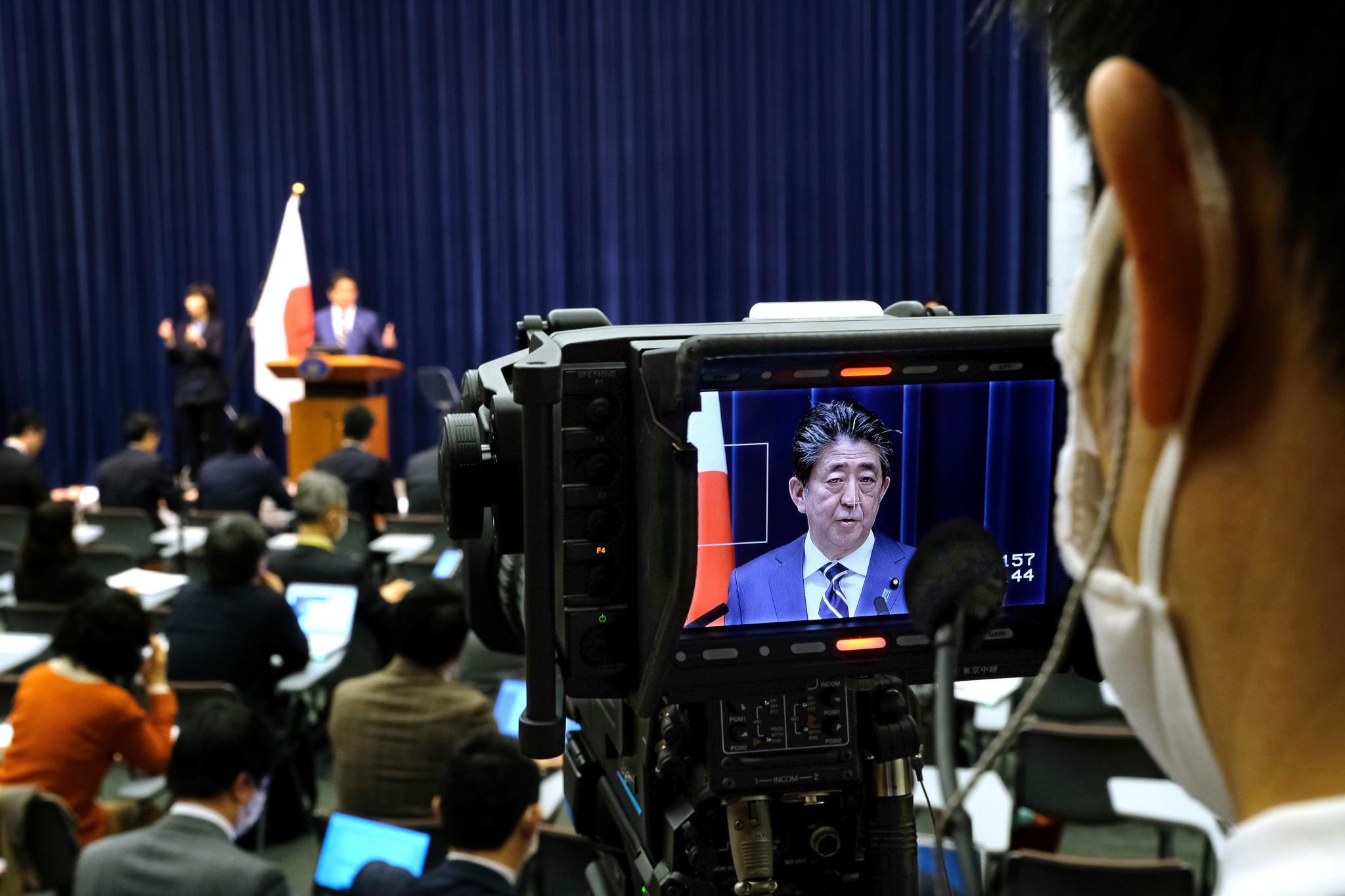 Prime Minister Shinzō Abe says Japan faces a