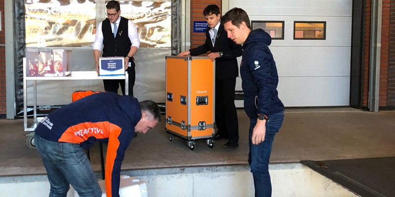 Dutch Olympic Committee supplies hospitals with equipment after Tokyo 2020 postponement