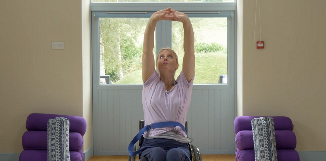 WheelPower release adaptive yoga videos for home exercise