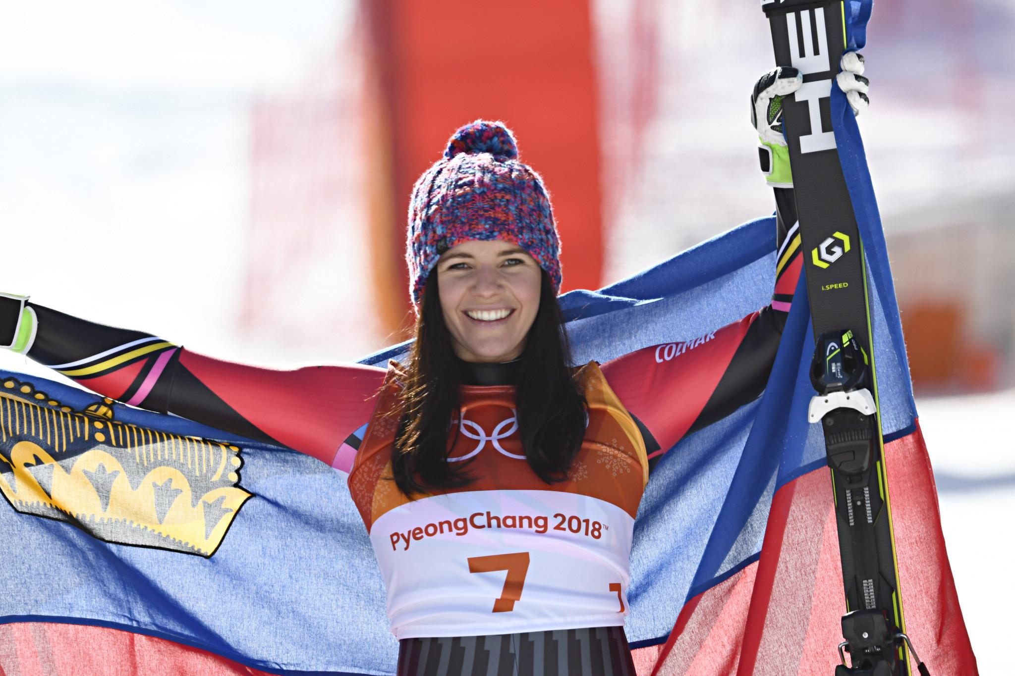 Liechtenstein's Olympic medallist Tina Weirather retires at 30