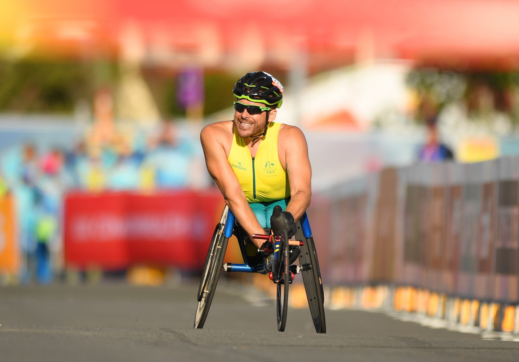 Commonwealth Games Australia presented the Kurt Fearnley Scholarship to six promising Para-sport athletes ©Getty Images