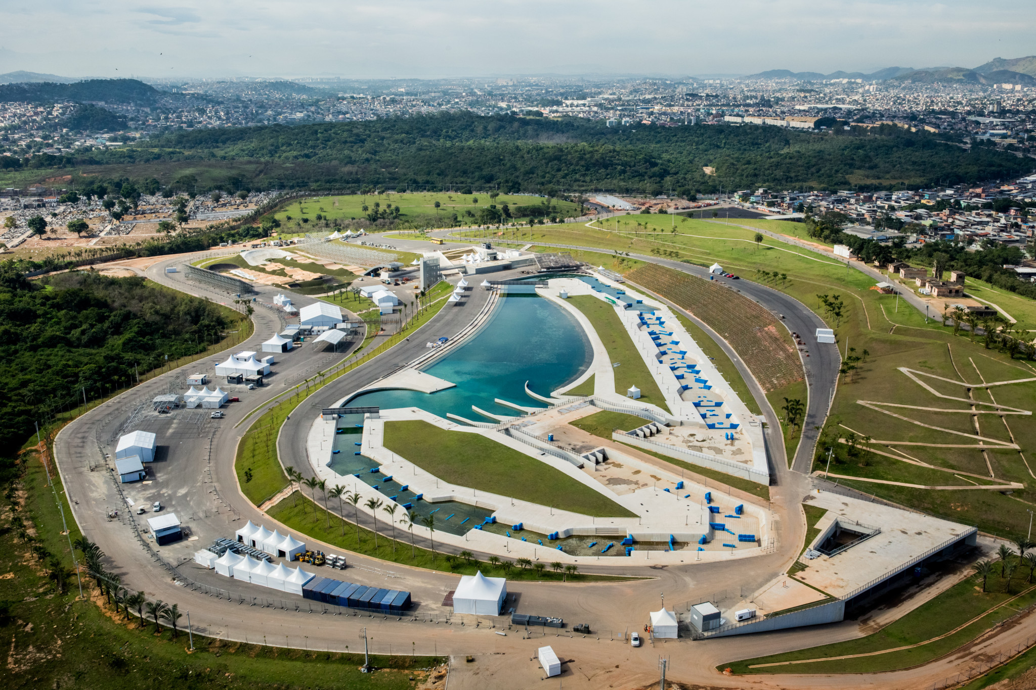 The complaint against Eduardo Paes is related to the construction of the Deodoro Olympic Park for Rio 2016 ©Wikipedia