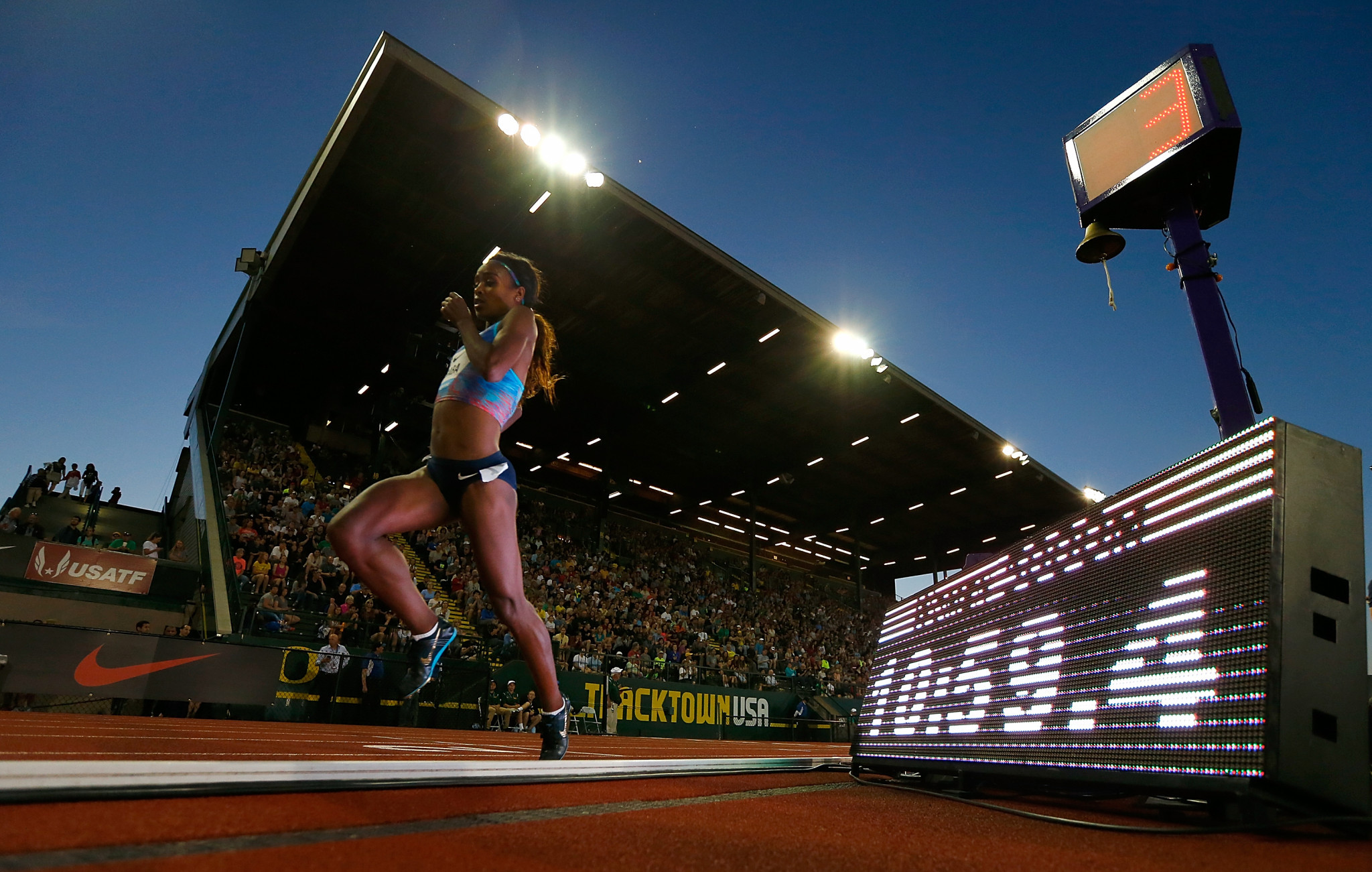 The 2021 World Athletics Championships in Oregon will now take place in 2022 ©Getty Images