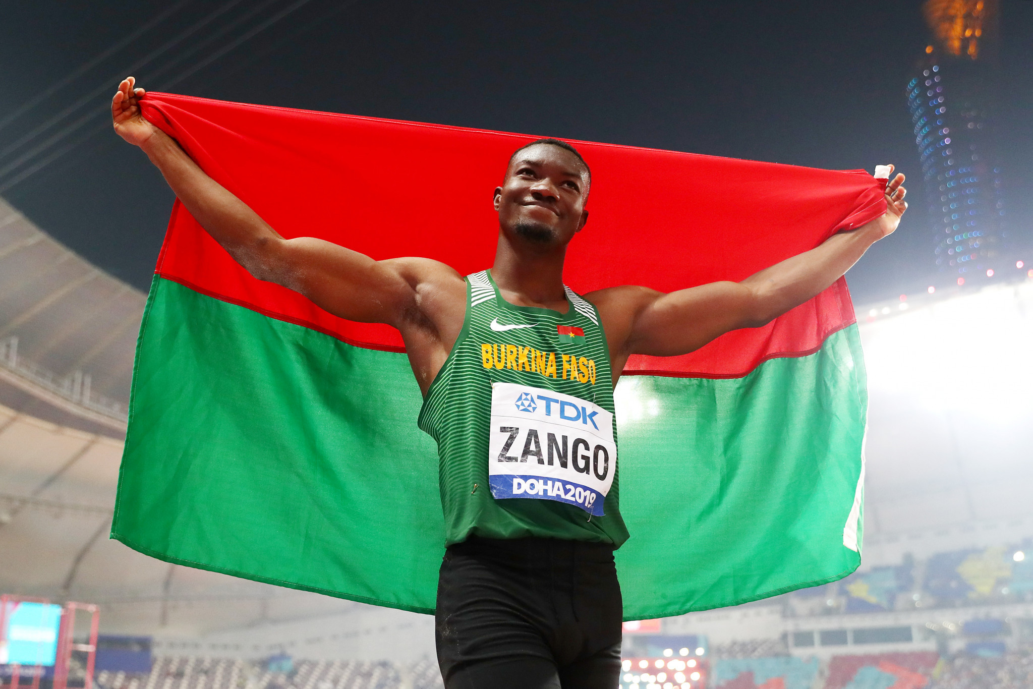 Hugues Fabrice Zango of Burkina Faso is now targeting Tokyo 2020 ©Getty Images