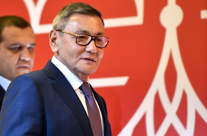 Uzbekistan's Gafur Rakhimov is formally elected as AIBA President ©Getty Images
