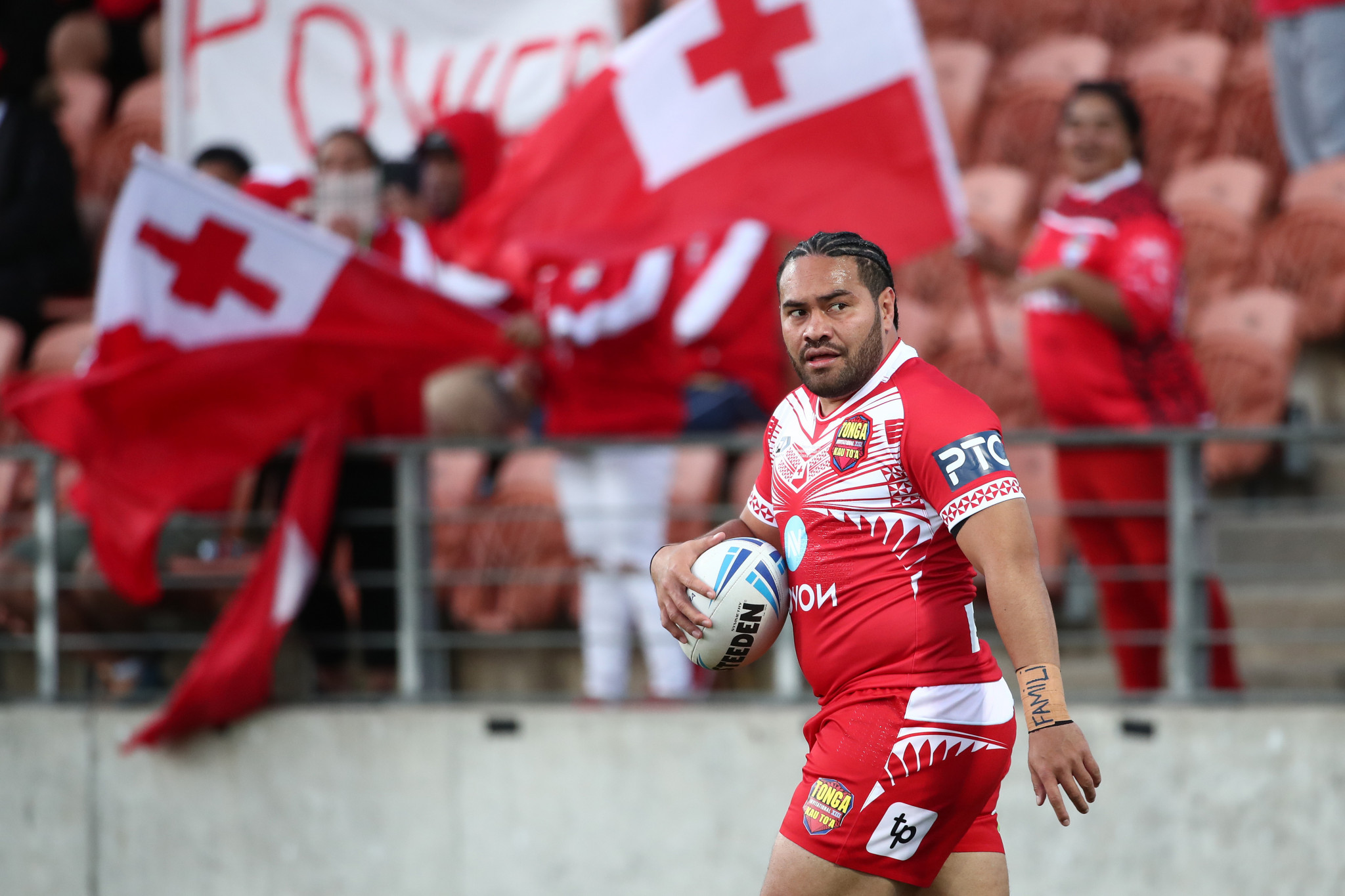 Konrad Hurrell has been included on the implementation committee to represent the Tongan national team ©Getty Images