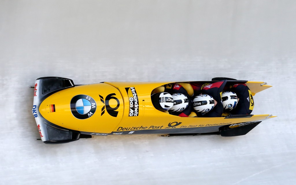 Germany win four-man at Bobsleigh World Cup again but this time with Walther as pilot