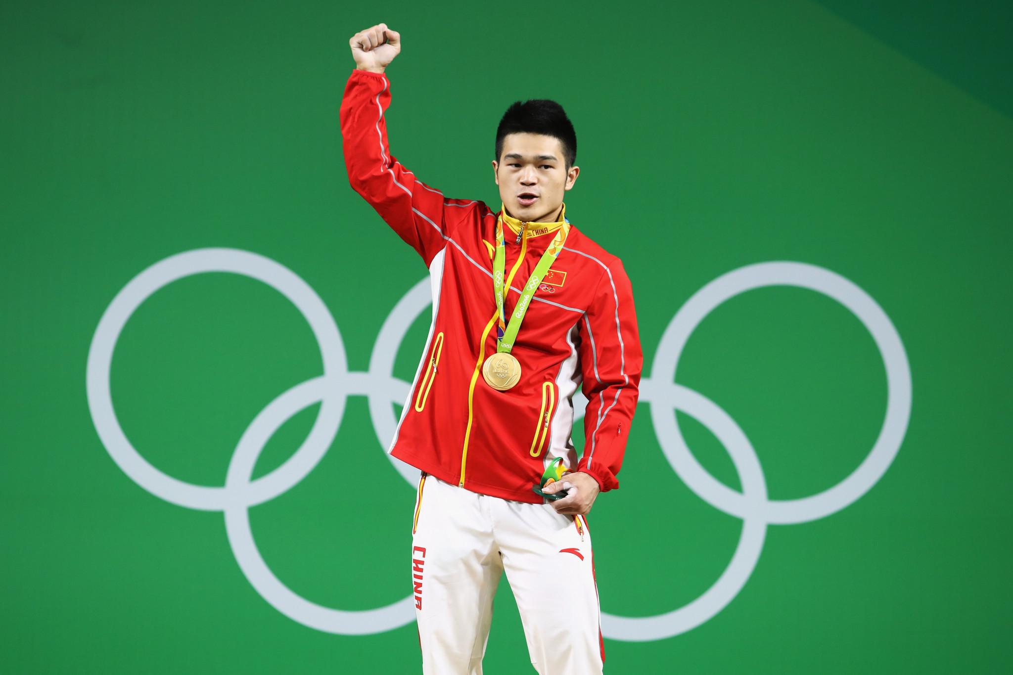 Shi Zhiyong won 69kg gold at Rio 2016 ©Getty Images