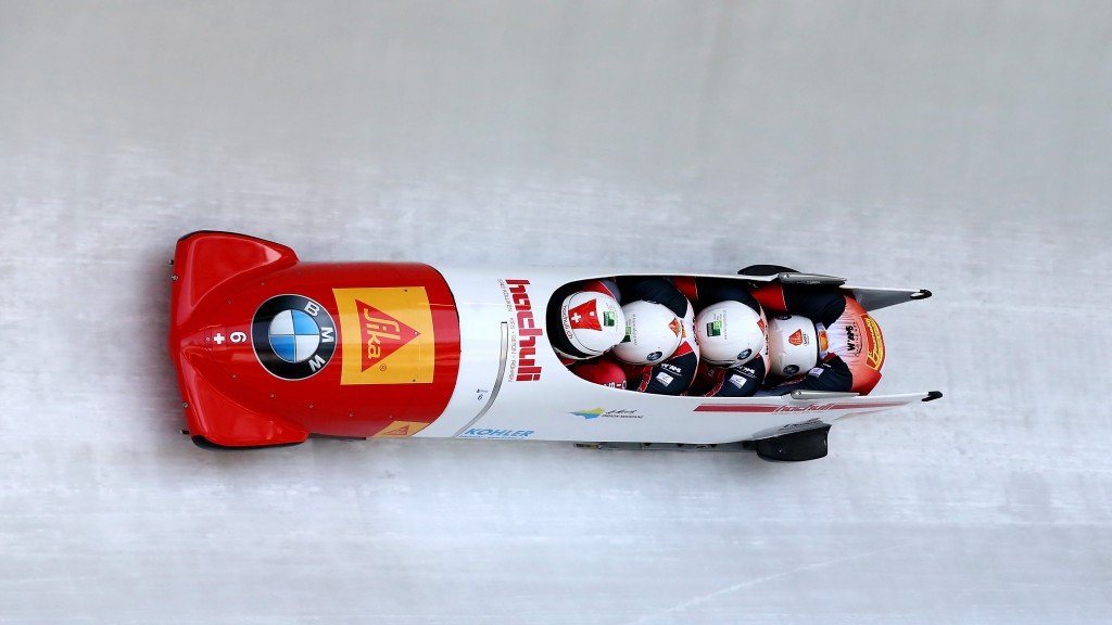The Swiss crew piloted by Rico Peter became the first non-Germans to finish on the podium this season
