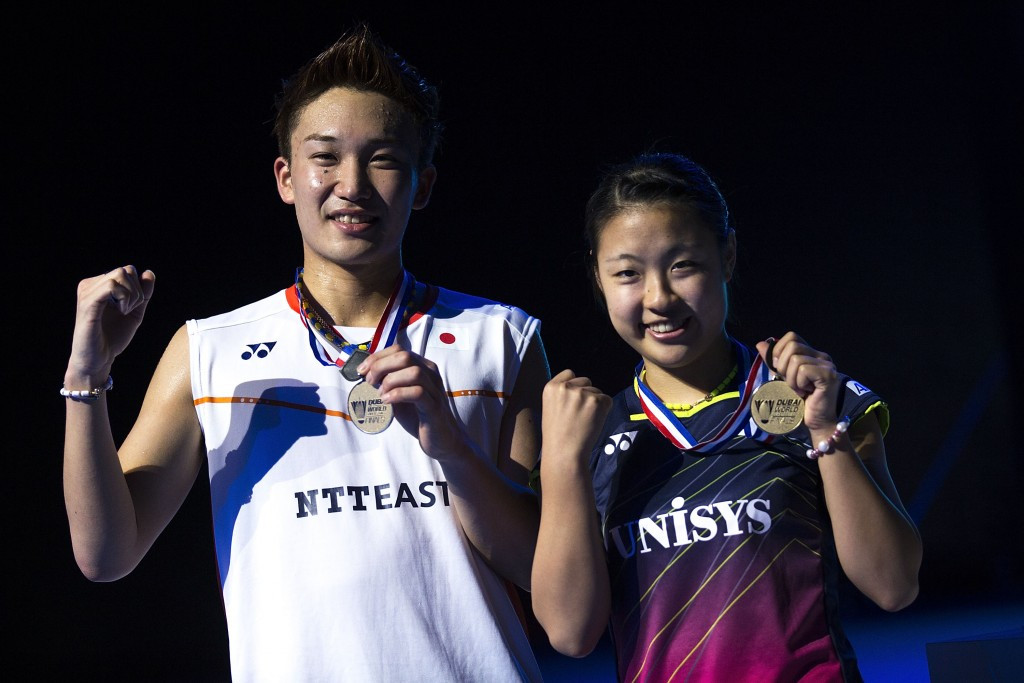 Japanese stars secure singles titles at BWF Superseries Finals