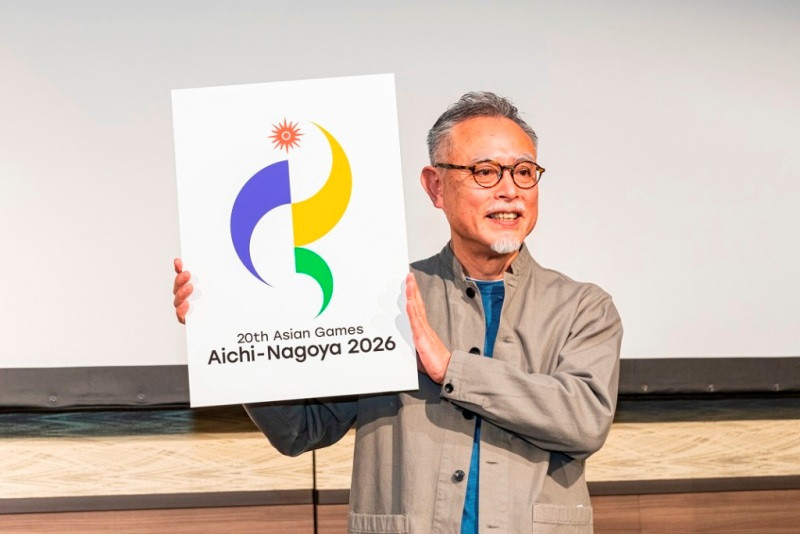 Logo revealed for 2026 Asian Games in Aichi-Nagoya