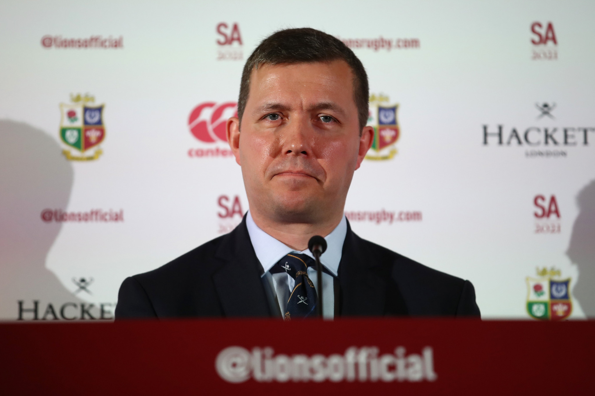 Ben Calveley, the managing director of the British and Irish Lions, says there should be no direct clashes between Lions matches and Olympic events ©Getty Images