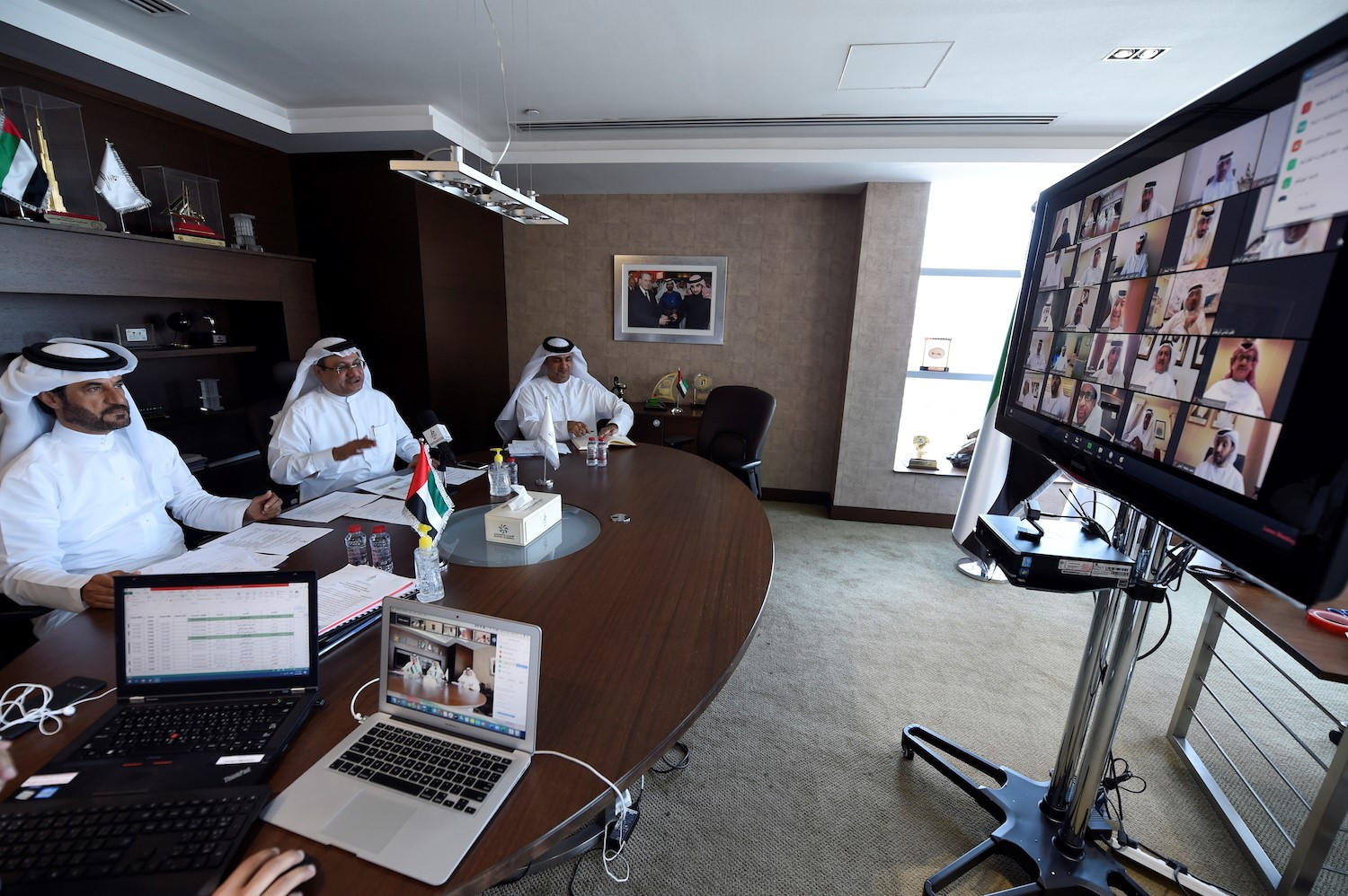 National Federations in the UAE are being urged to meet using visual communication technology ©UAE NOC