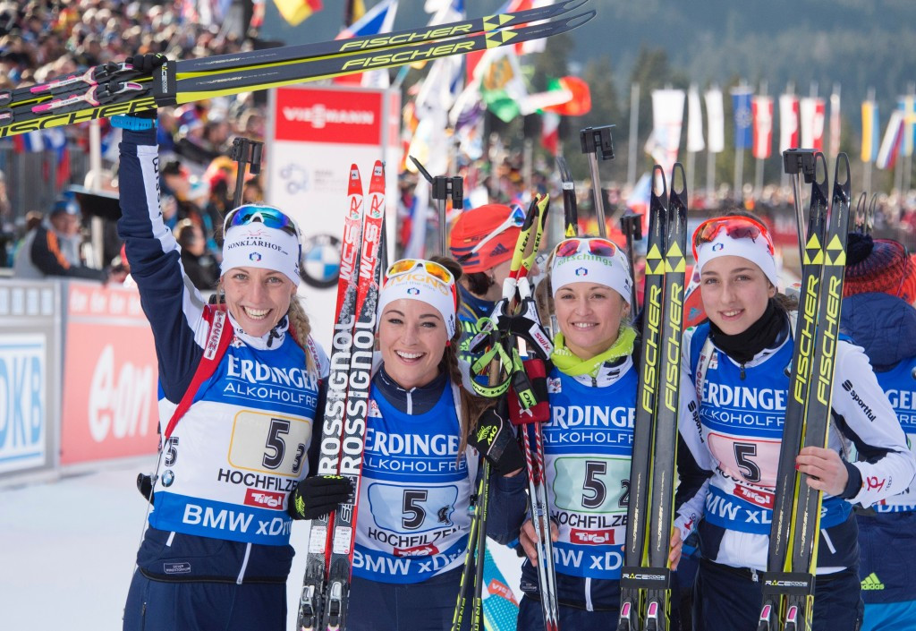 Italy's women claim first relay victory at IBU World Cup