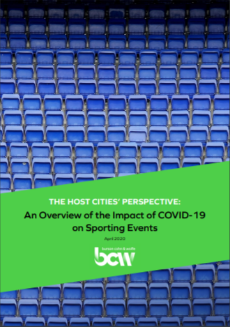 Burson Cohn & Wolfe survey shows impact of COVID-19 on cities hosting major sports events