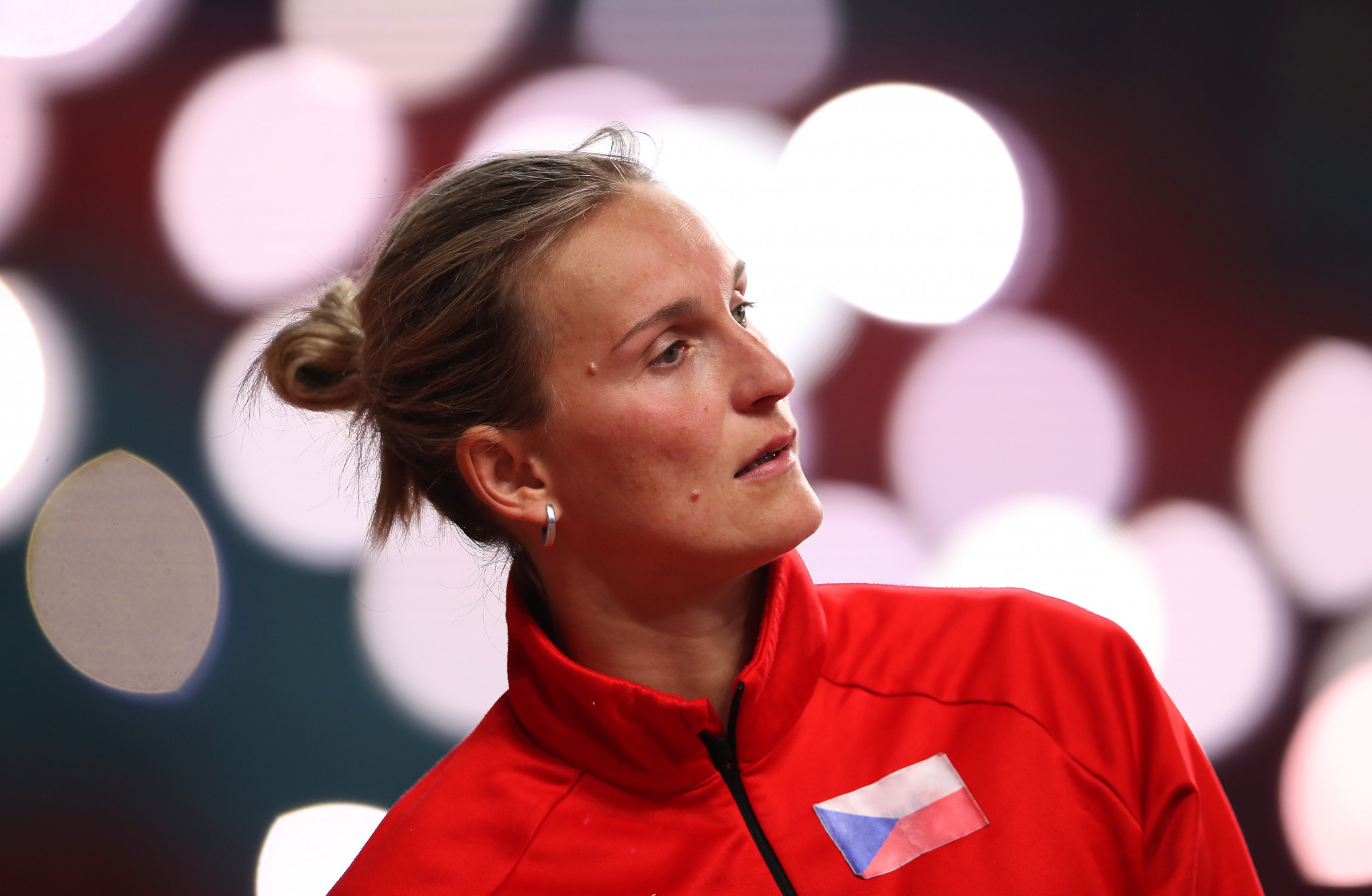 Barbora Špotáková will decide whether to compete at the rescheduled Tokyo 2020 Olympic Games later this year ©Getty Images