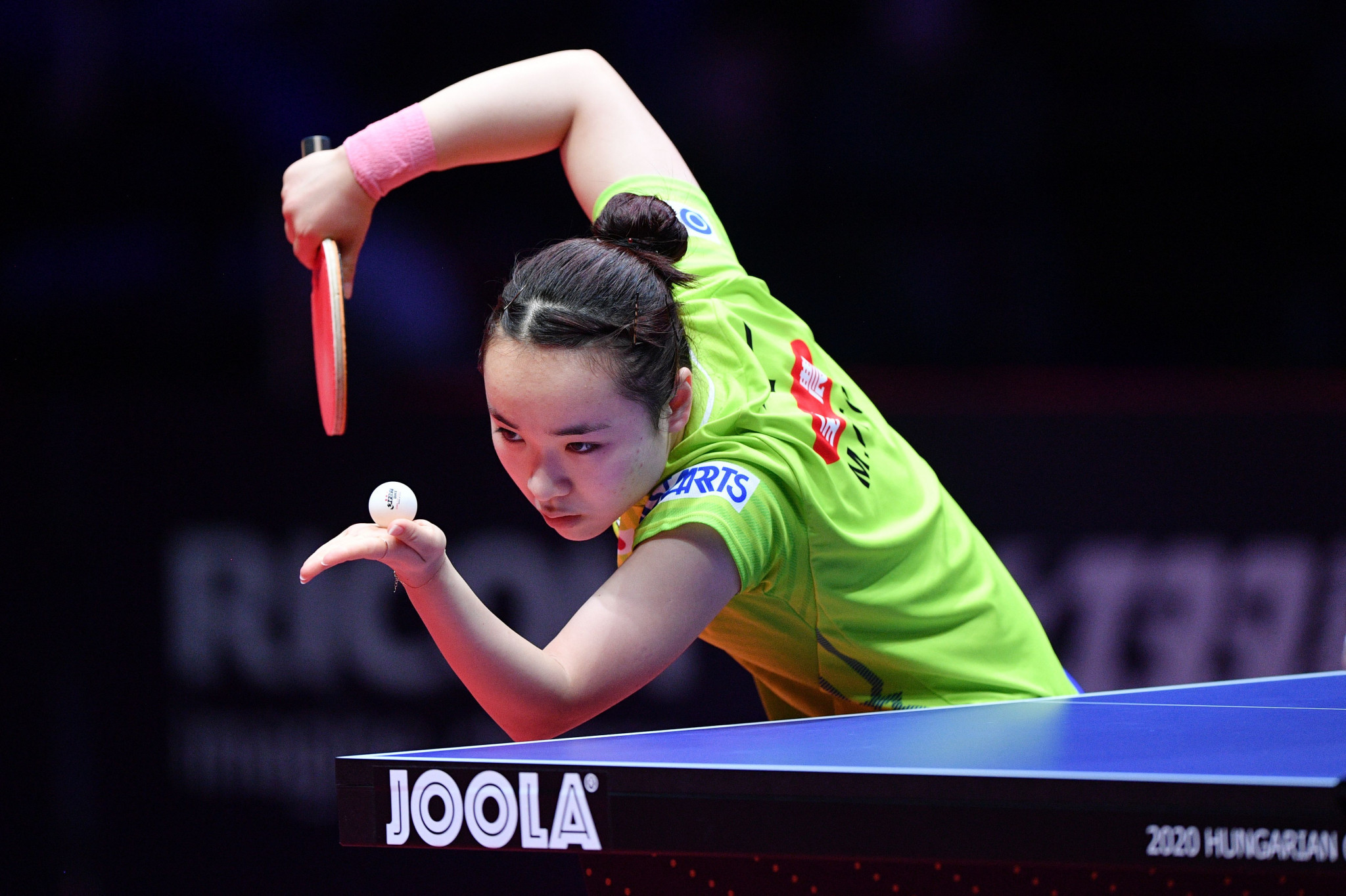 Table tennis events are currently suspended until June 30 ©Getty Images