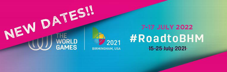 Birmingham 2021 World Games moved back a year following Tokyo 2020 postponement