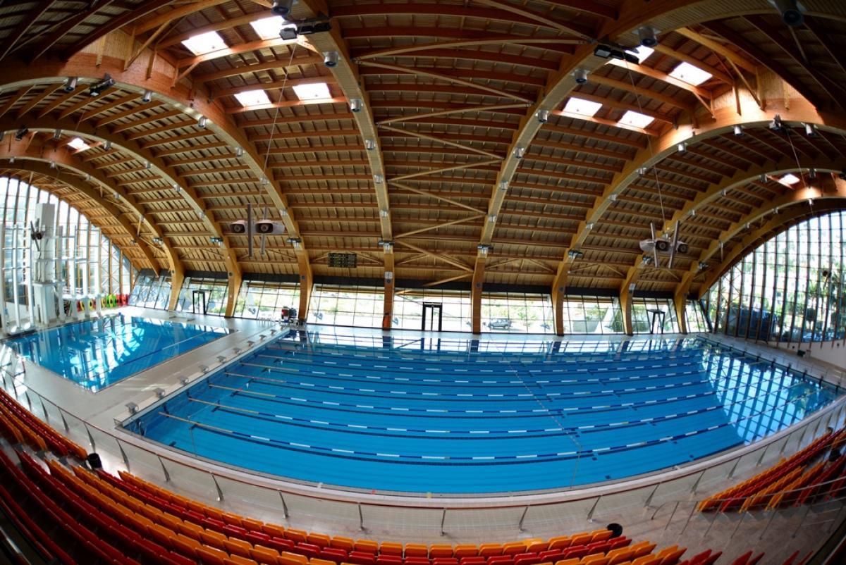Funchal's Penteada Olympic Pools Complex had been set to host the 2020 World Para Swimming European Open Championships ©Federação Portuguesa de Natação/IPC