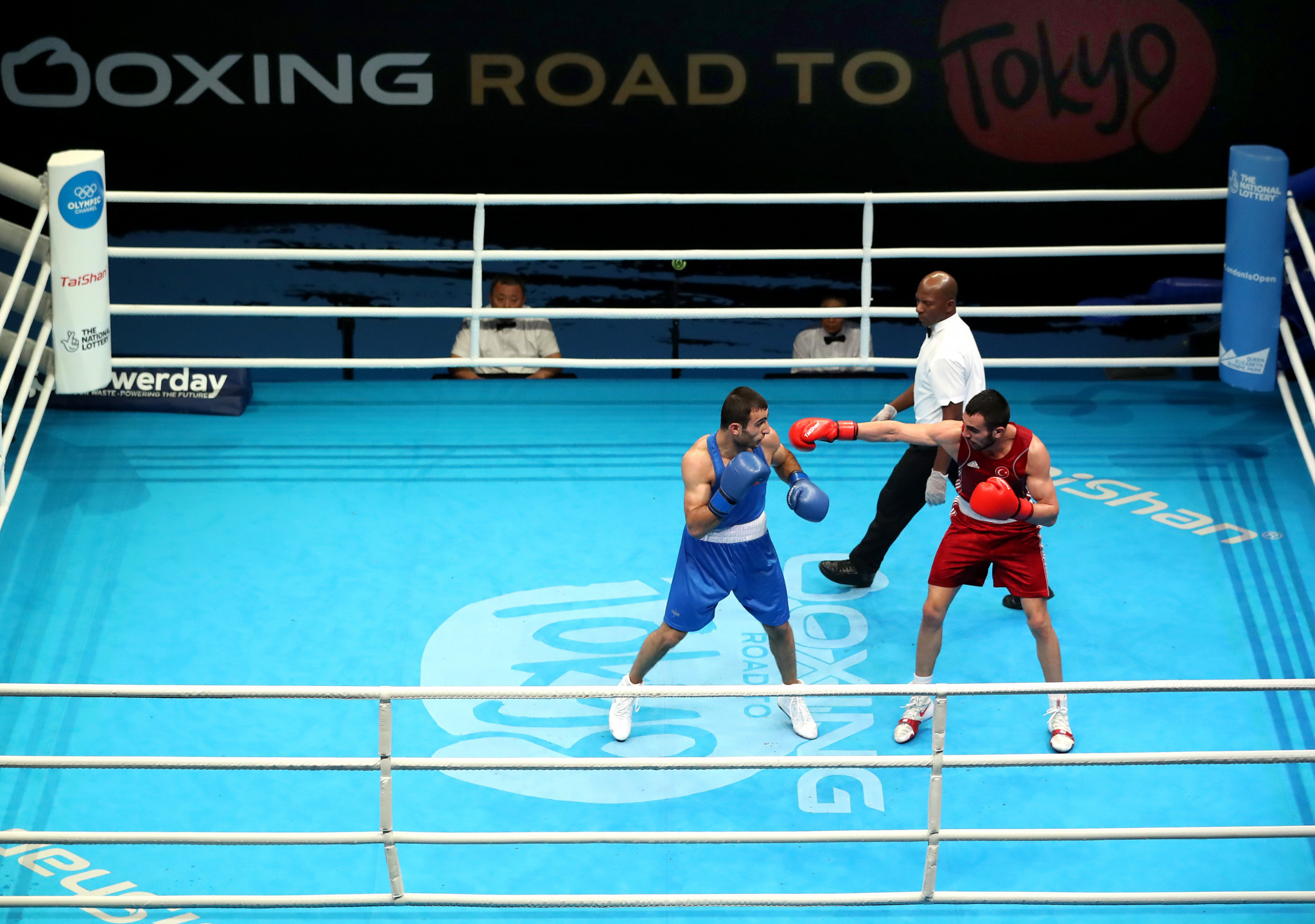 The IOC Boxing Taskforce has faced criticism for allowing the qualifier to take place ©Getty Images