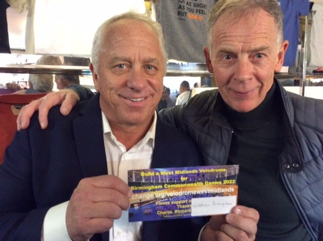 Three-time Tour de France winner Greg LeMond is among those to have backed the velodrome campaign ©Dave Viner