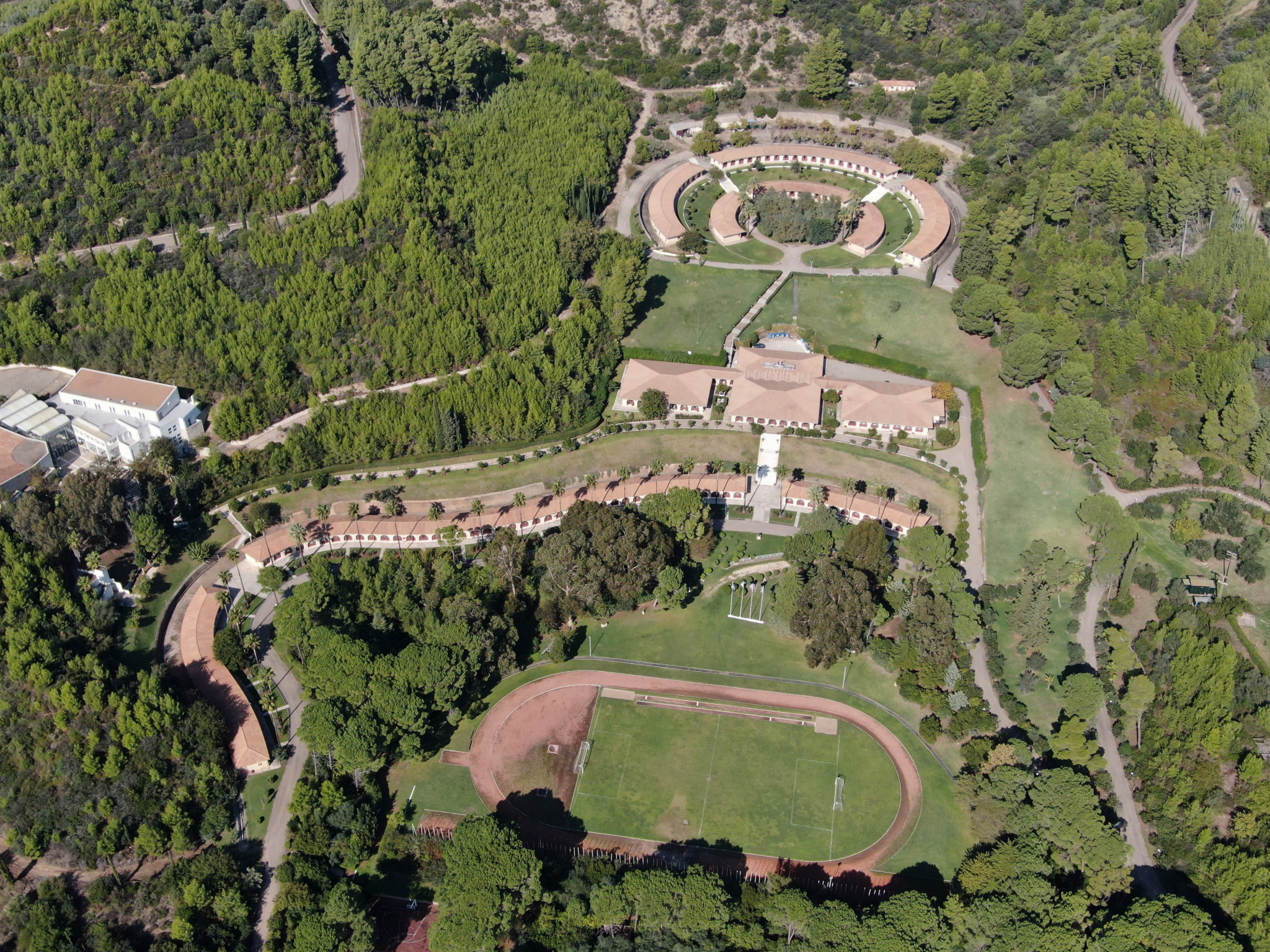 Work to upgrade the International Olympic Academy has started as scheduled ©IOA