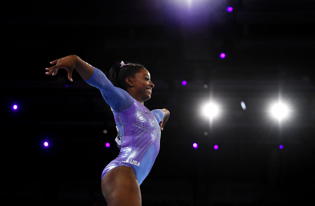 Simone Biles has admitted the postponement of the Tokyo 2020 Olympics provides a mental challenge for athletes ©Getty Images