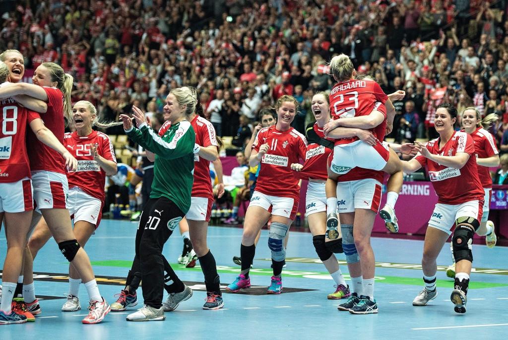 Hosts Denmark advance at World Women's Handball Championships but holders Brazil knocked out