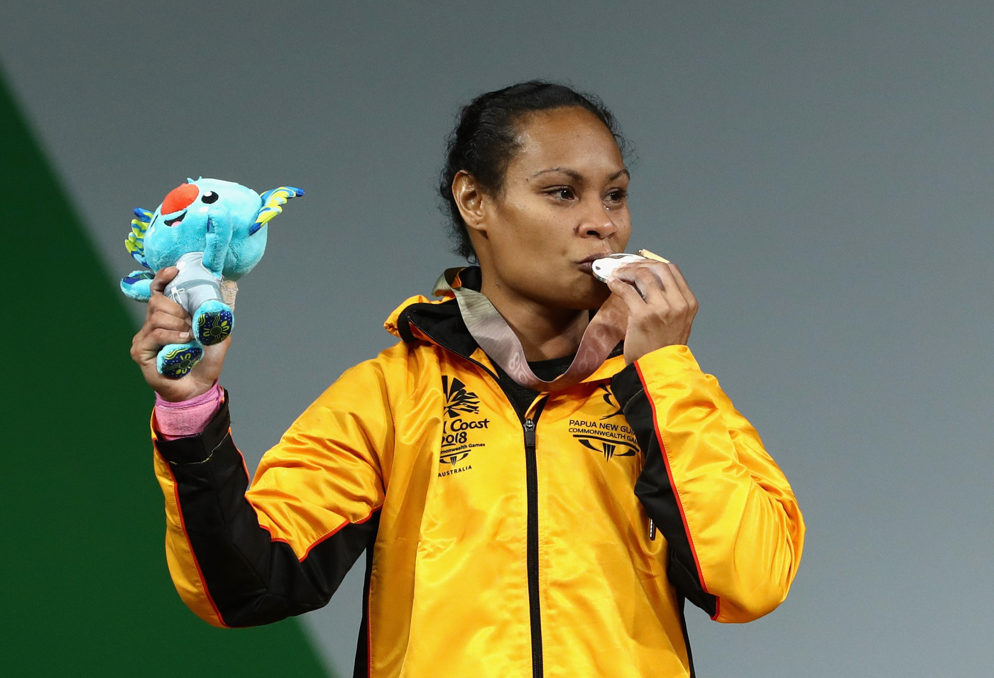 Weightlifter Dika Toua is hoping to compete at her fifth Olympics next year ©Getty Images