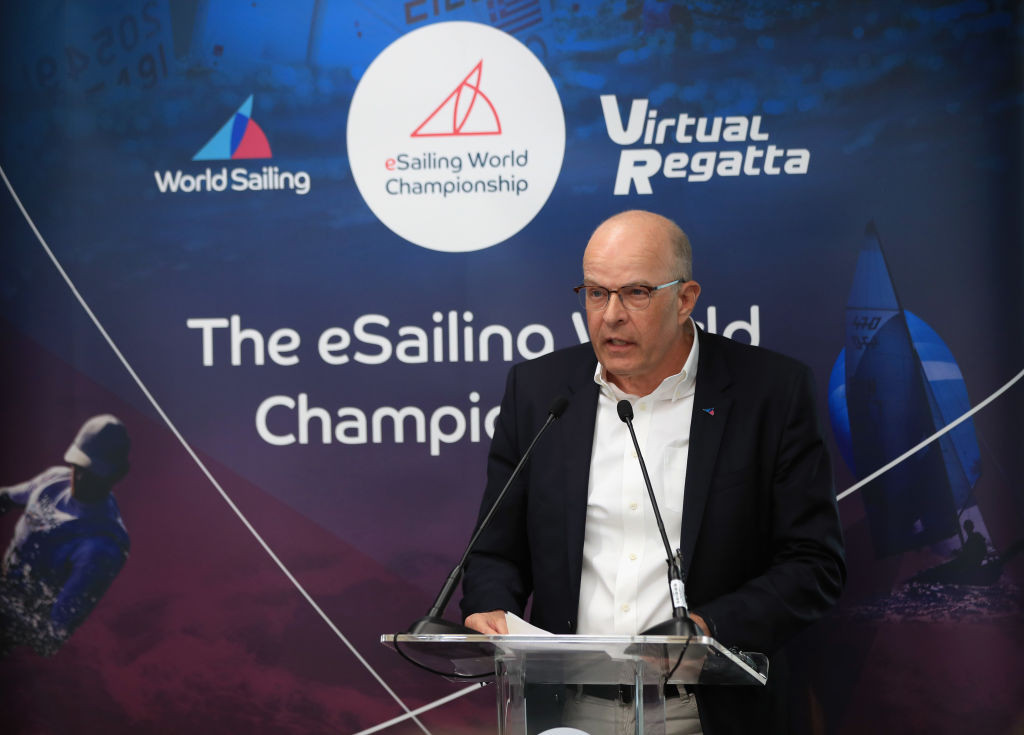 World Sailing President Kim Andersen is up for re-election at the AGM on November 1 ©Getty Images
