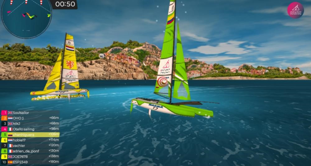 eSailors to compete at Olympic class regattas recreated as virtual racecourses