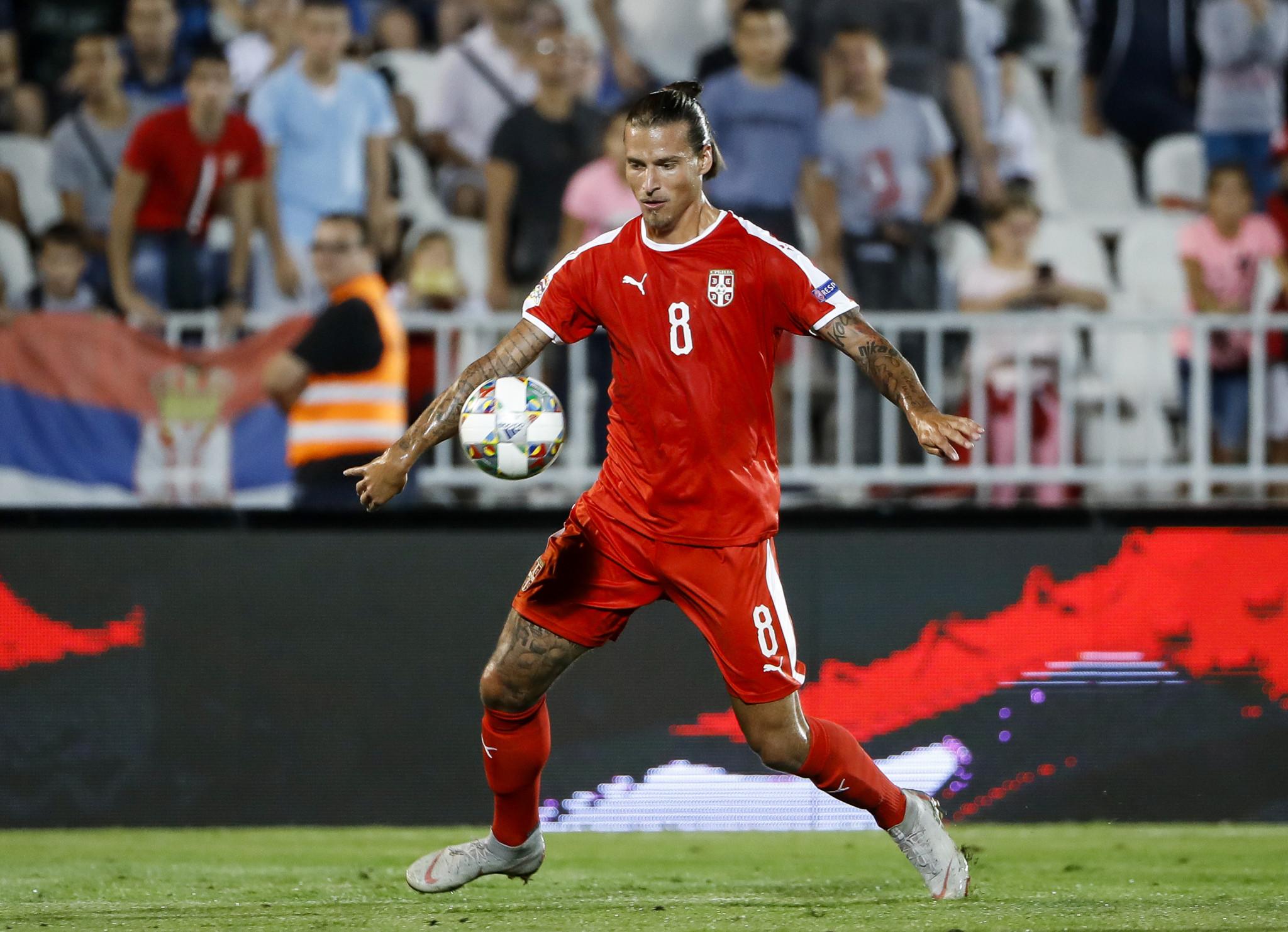 Serbian footballer Prijović given home detention for breaking coronavirus curfew
