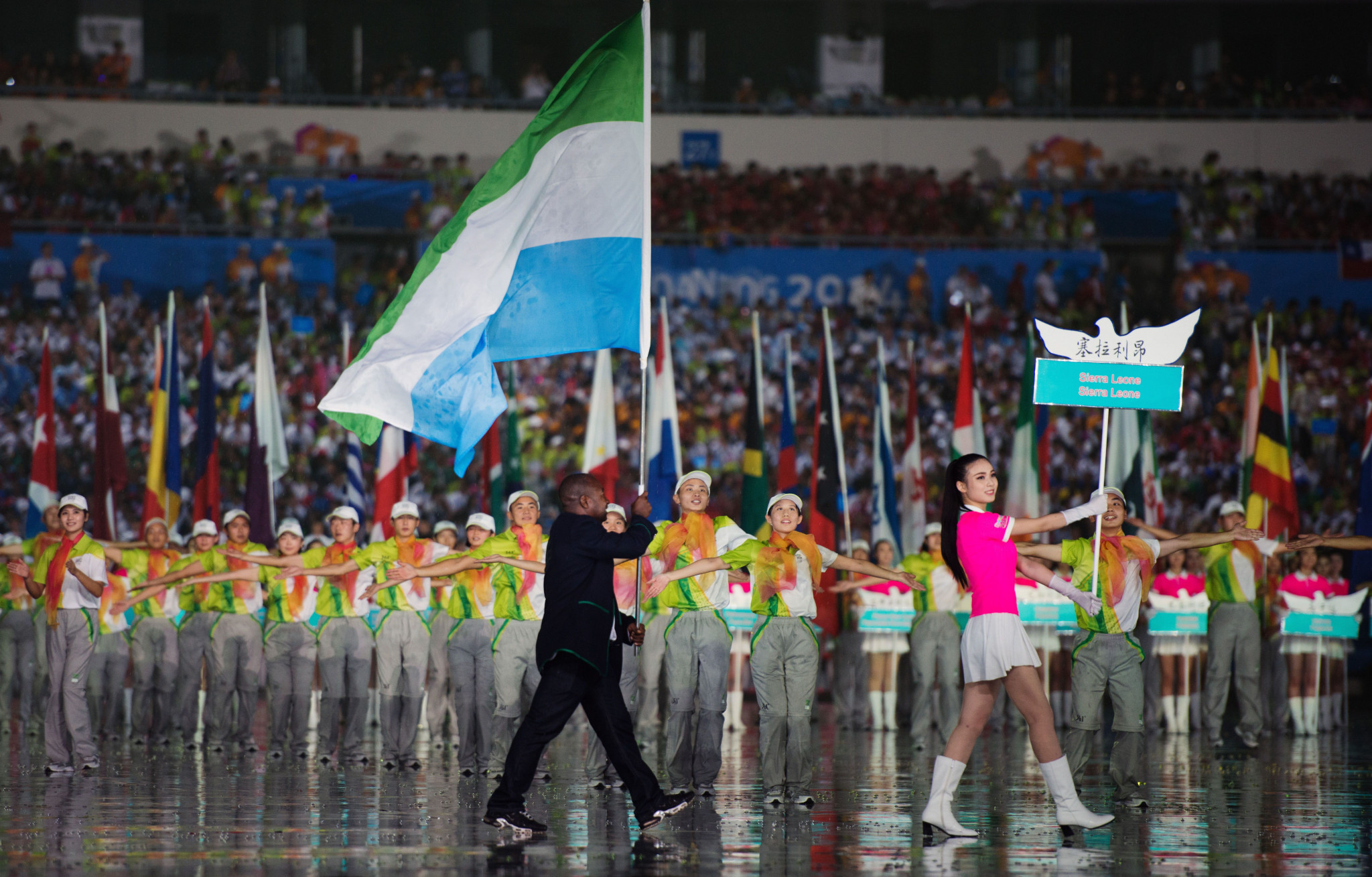 Sierra Leone is still waiting for their first Olympic medal ©Getty Images