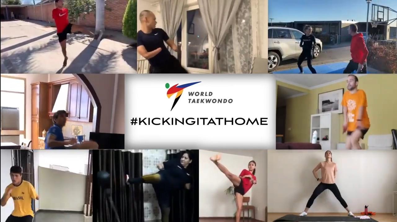 World Taekwondo launches Kicking It At Home campaign