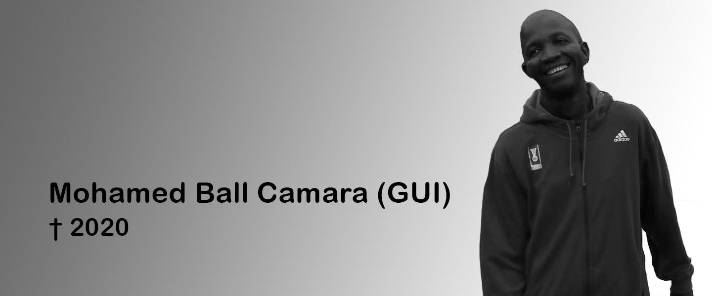 The IHF offered condolences to the friends and family of Mohamed Ball Camara ©IHF