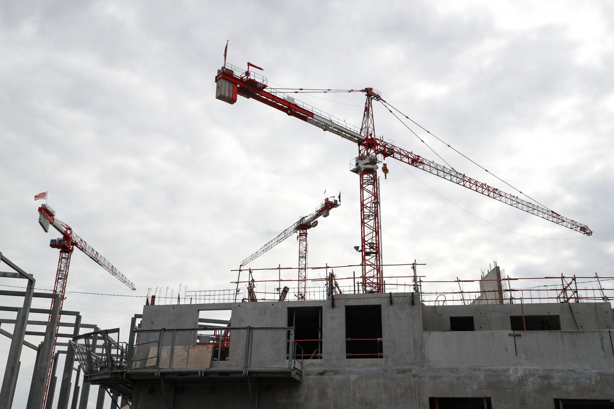 Coronavirus impacting Birmingham 2022 construction projects