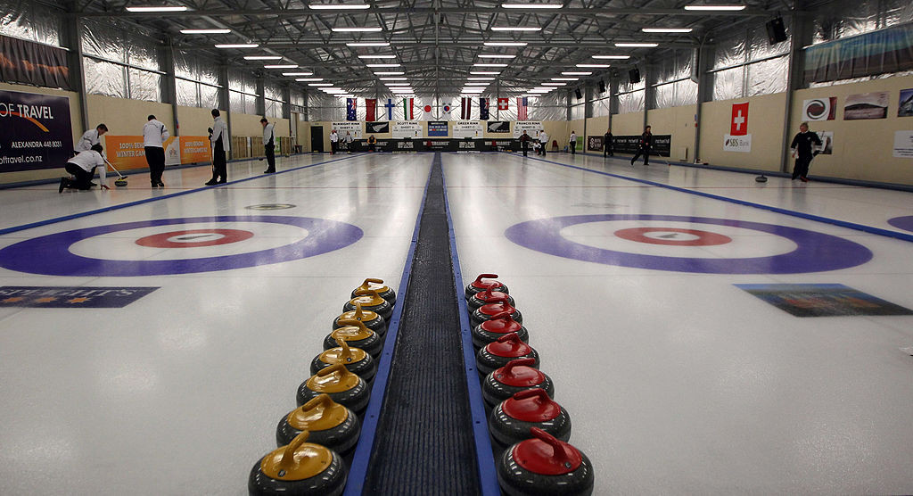 Curling is among the numerous sports to have been impacted by the coronavirus pandemic ©Getty Images