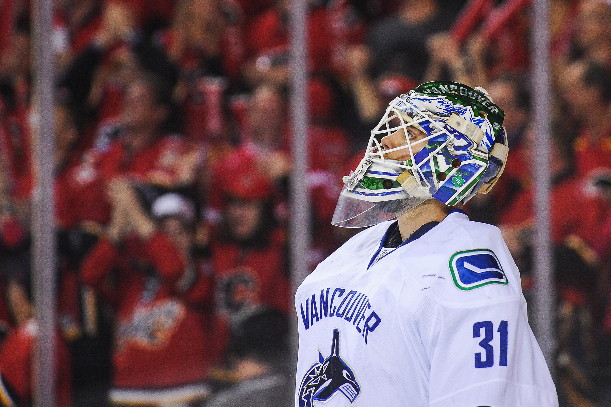 Eddie Lack's first NHL team was the Vancouver Canucks ©Getty Images