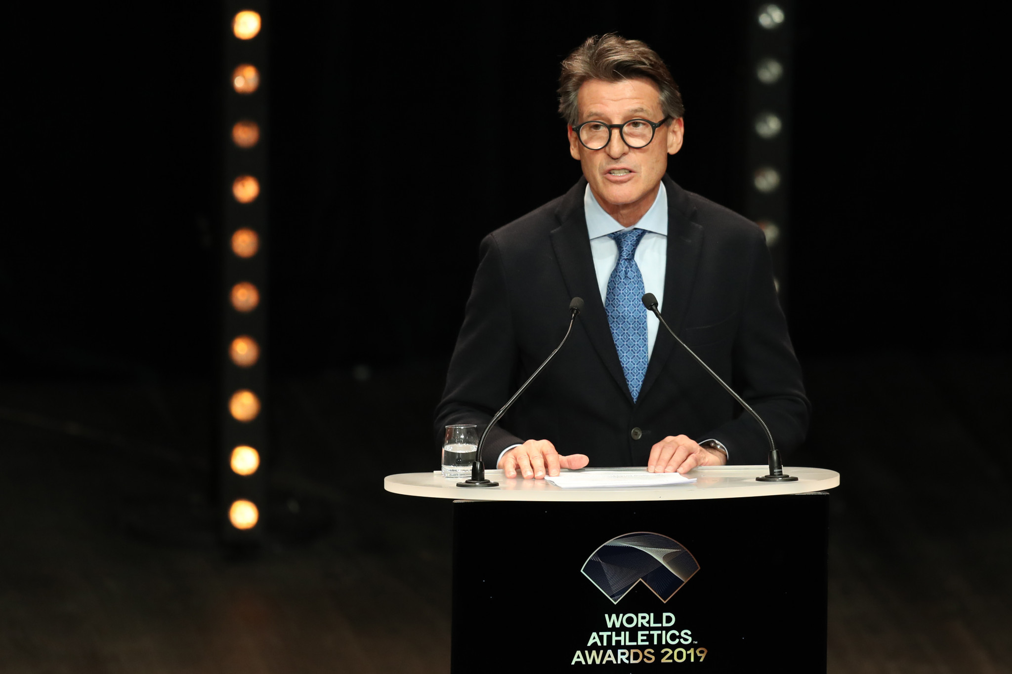 World Athletics President Sebastian Coe said the organisation must