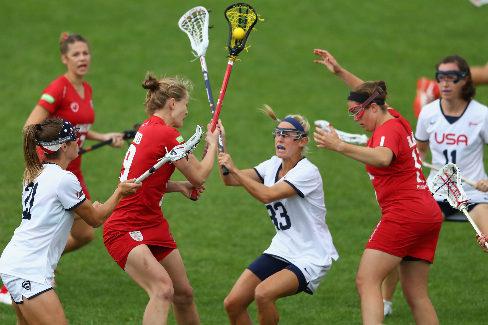 As with all sports lacrosse has been affected by COVID-19 ©Getty Images