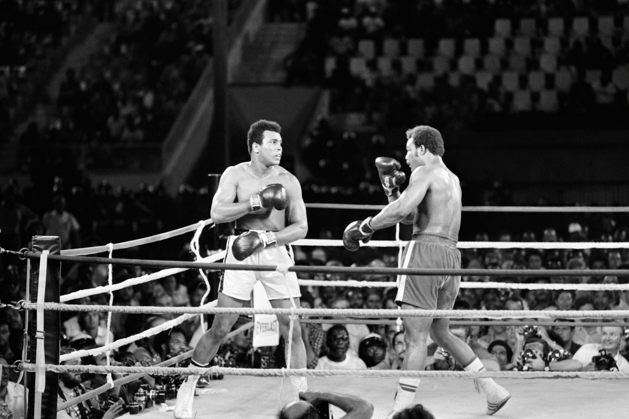 Muhammad Ali would feature in many boxing fans' fantasy matches ©Getty Images