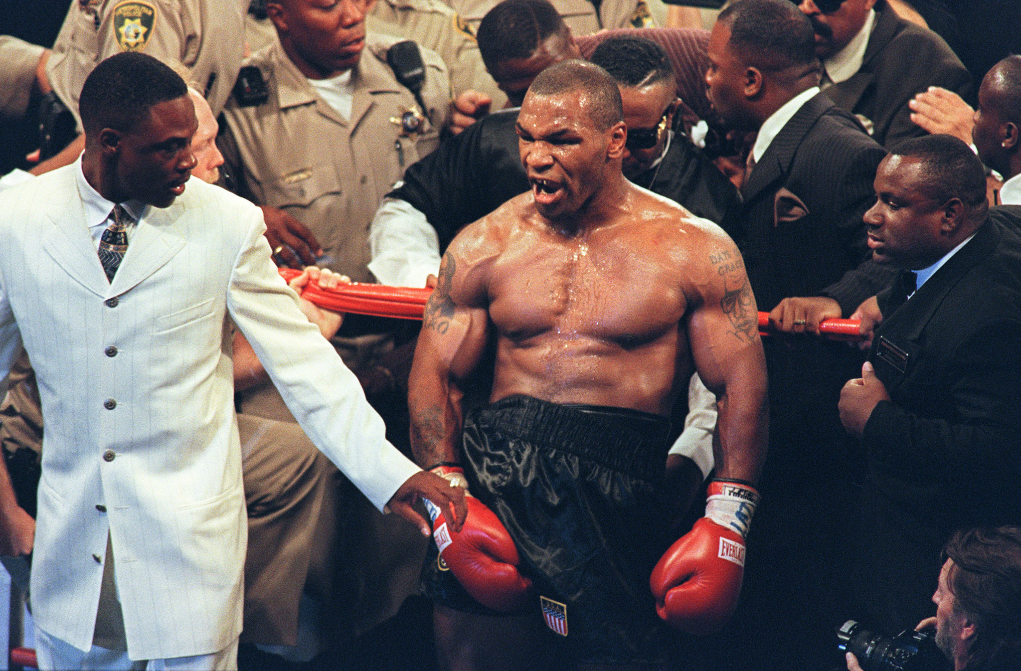 How would a peak Mike Tyson fare against the heavyweights of today? ©Getty Images