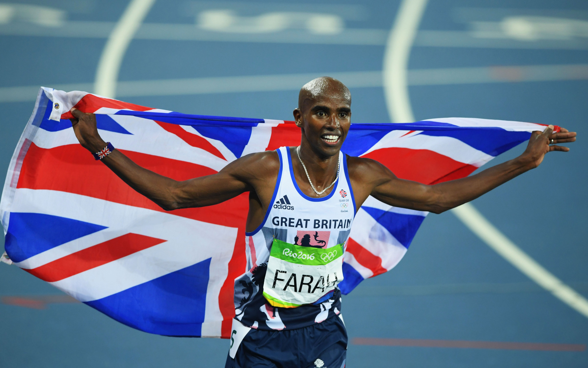 Joanna Coates rejected claims UK Athletics were trying to protect the medical data of Sir Mo Farah ©Getty Images