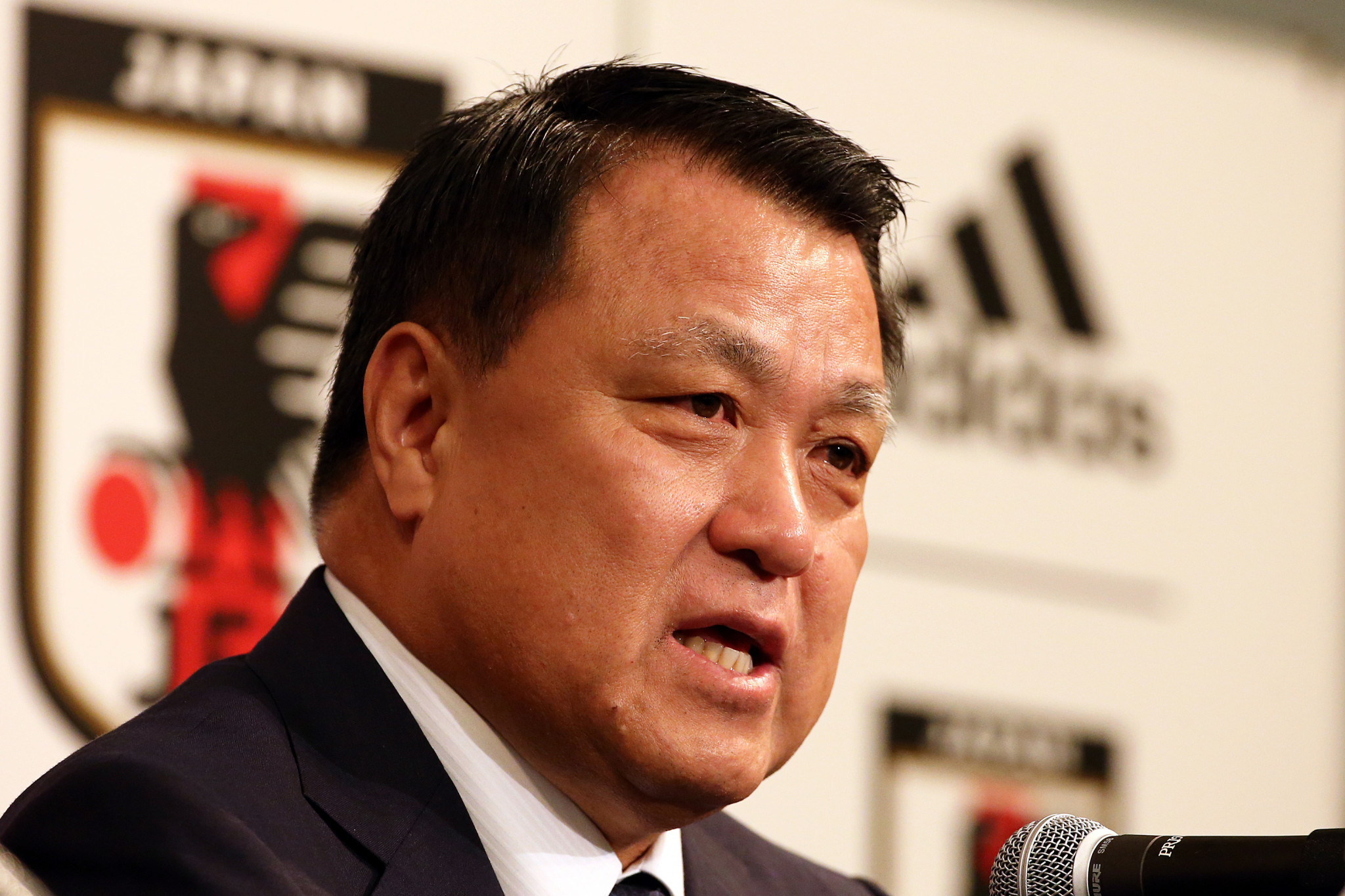 Japan Football Association President wants sports world to lead by example after recovering from COVID-19