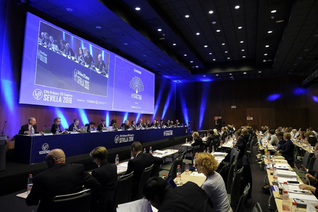 ISU members have voted to postpone the organisation's Congress until June 2021 ©ISU