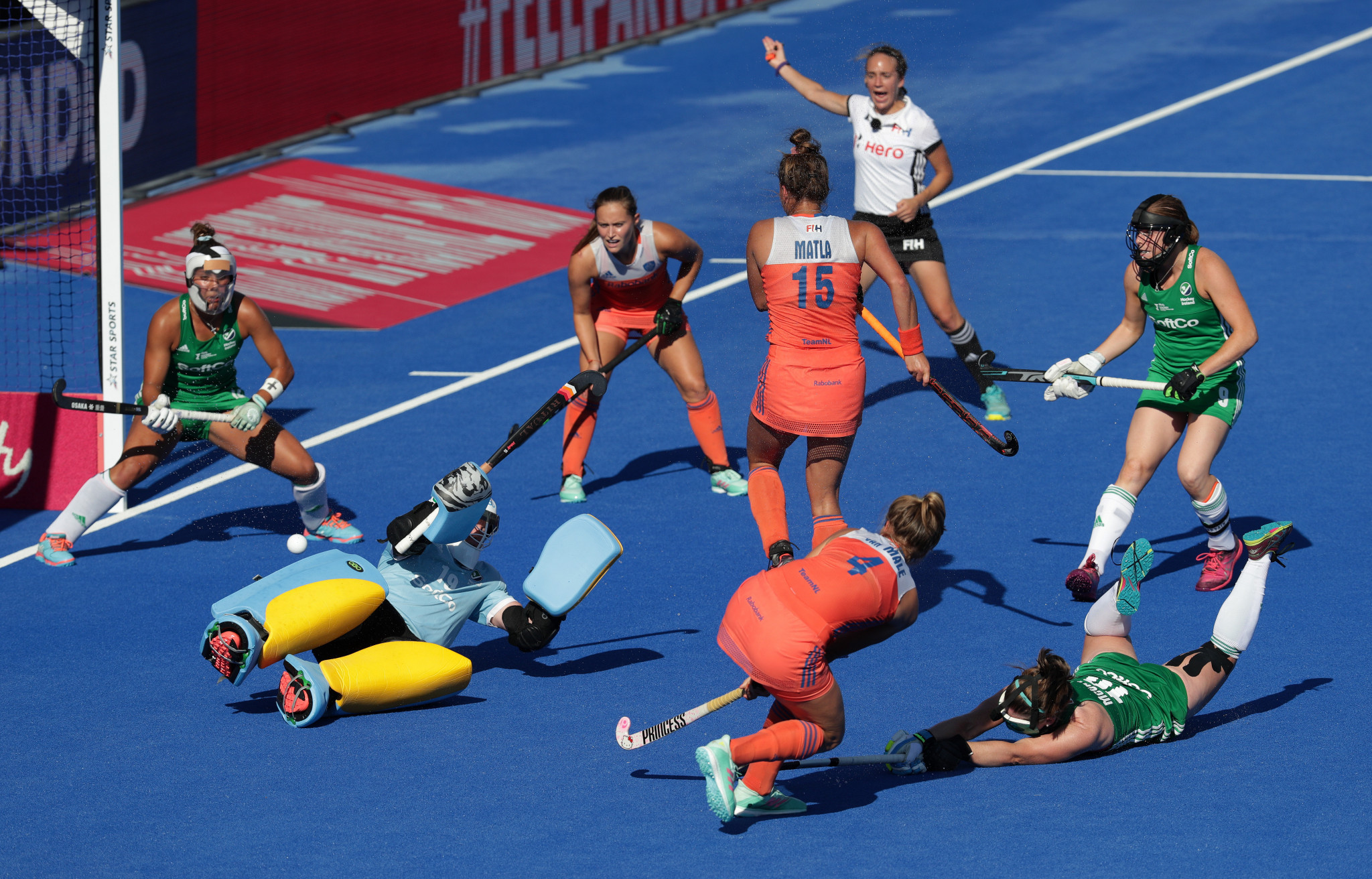 The Netherlands are the current world champions, having defeated Ireland 6-0 in the final ©Getty Images