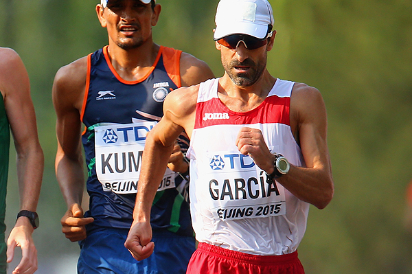 Jesús Ángel García earned a world title in 1993 but has yet to claim an Olympic medal ©World Athletics
