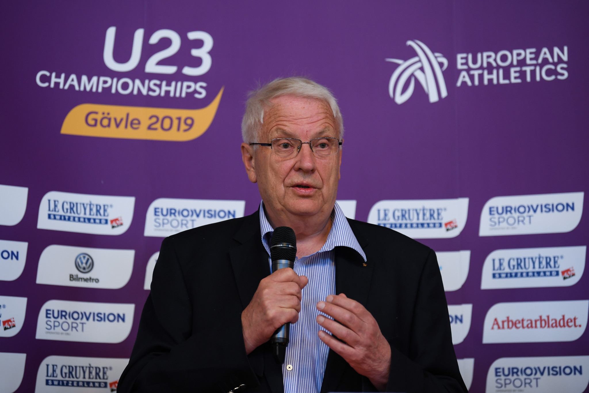 European Athletics President Svein Arne Hansen has tweeted for the first time since suffering a stroke ©Getty Images