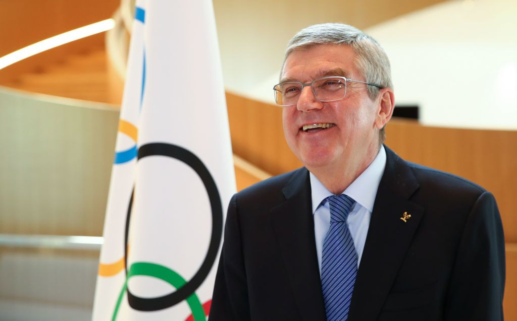 Thomas Bach has dismissed suggestions the IOC were too hesitant in postponing Tokyo 2020 ©Getty Images