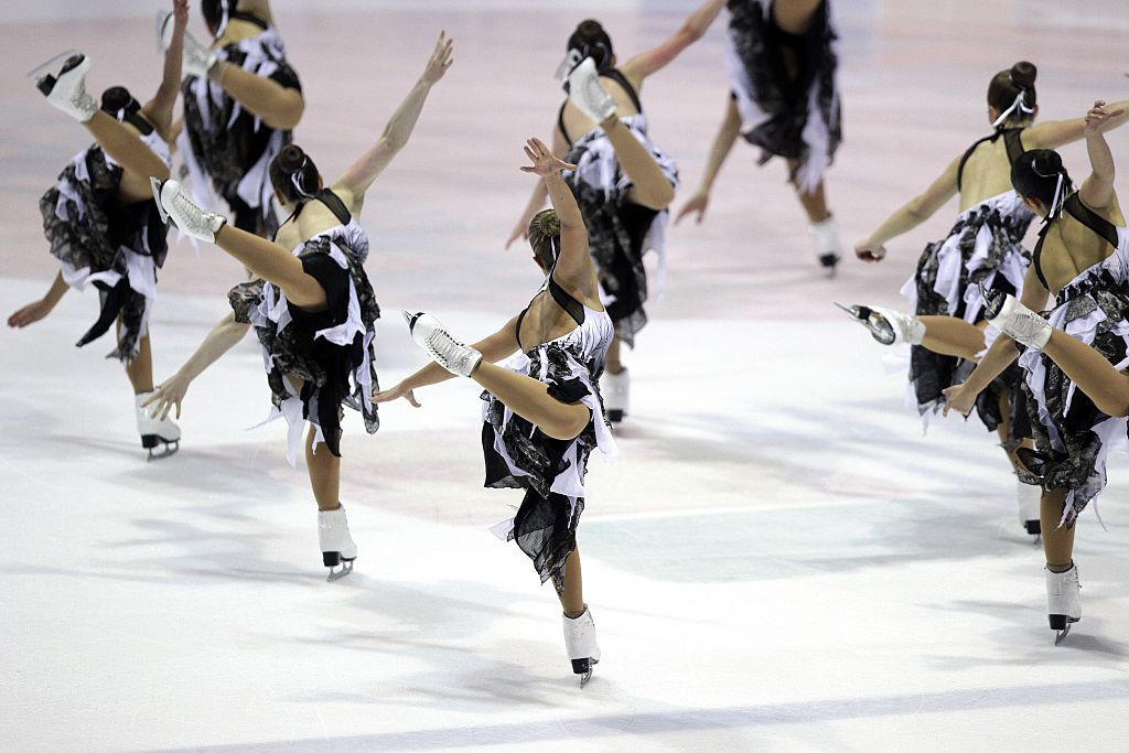 The synchronised skating Challenger Series made its debut in the 2019-2020 season ©Getty Images